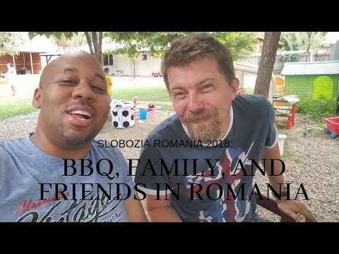 Eating Romanian BBQ In Slobozia Romania And The Stages Of Getting Drunk