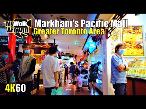 Greater Toronto's Pacific Mall (Largest Asian themed mall in North America) July 12 2020