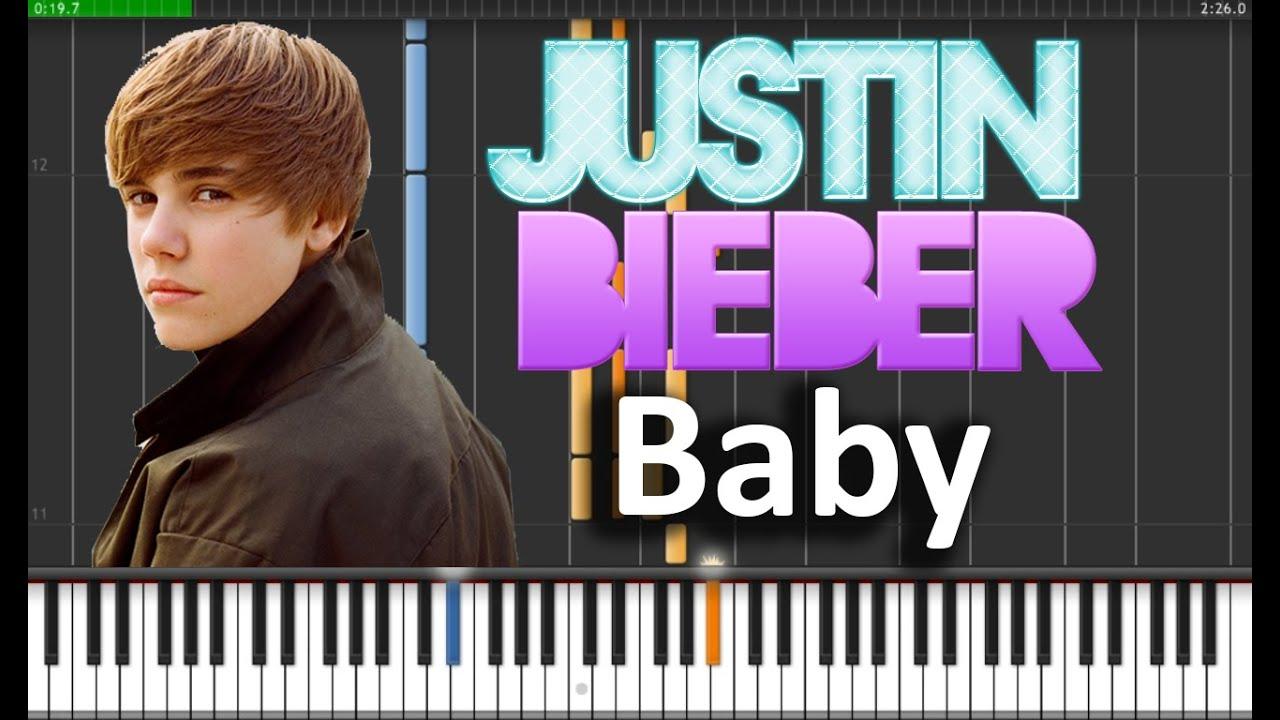 Pdf baby justin bieber lyrics