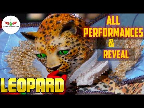 Masked Singer Leopard All Performances & Reveal | Season 2