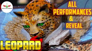 Masked Singer Leopard All Performances & Reveal | Season 2