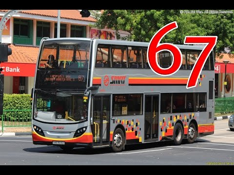 SMRT Bus 67: Tampines - Choa Chu Kang (SMB3588L Enviro500, FFW)