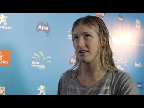 Eugenie Bouchard shares her thoughts on who's who in tennis | Apia International Sydney 2017