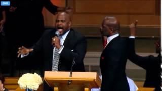 Stand- Bebe & Marvin Winans - Dr. Maya Angelou Memorial