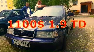 Авто з Польщі Skoda Octavia 1.9tdi  2000р 1100S