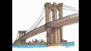 How to Draw the Brooklyn Bridge