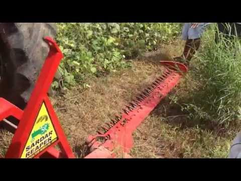 Sickle Bar Reaper Mower - CP ENGINEERING , KEKRI