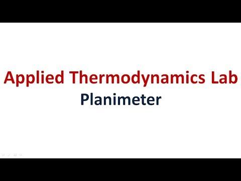 Planimeter | Applied Thermodynamics Lab | MechLabVideos