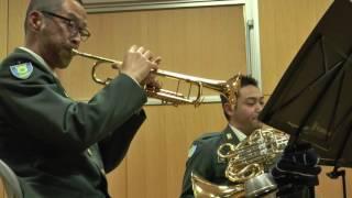 陸上自衛隊中央音楽隊メンバーによる 金管五重奏 アース・ウインド&ファ...