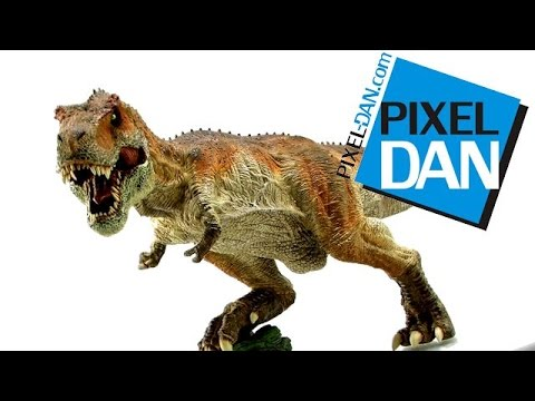 Rebor Tyrannosaurus Rex King T-Rex 1/35 Scale Statue Video Review