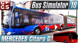 BUS SIMULATOR 18 MERCEDES Citaro G ► #14 Busfahr und Management Simulation