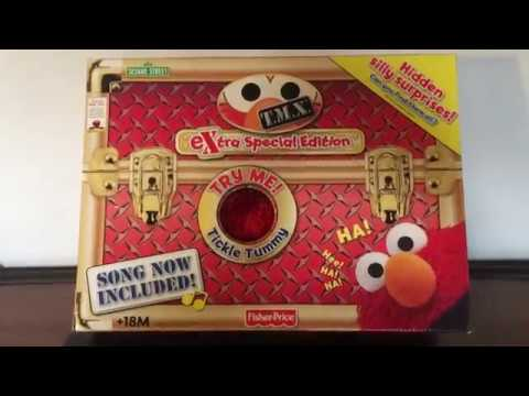 Sesame Street T.M.X. Extra Special Edition (Tickle Me Elmo) 2007 By Fisher-Price
