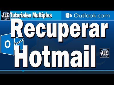 Como Recuperar Contraseña De Hotmail o Outlook | Si no Tengo Correo Alternativa y Telefono