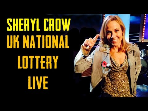 Sheryl Crow @ the UK National Lottery Live (1 Nov 2014)