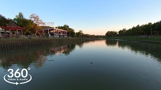 Marikina River Park , Sunset Walk | 360°  VR Video & Audio Walking Tour