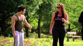 The Only Way Is Essex: Gemma Collins & Arg keep fit with Georgio and Dino