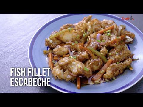 Fish Fillet Escabeche, SIMPOL!