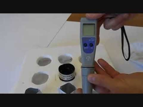 Adwa AD14 two point pH calibration