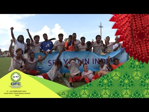 2017 OFC U-17 CHAMPIONSHIP | SEMI-FINAL 1 New Caledonia v Solomon Islands Highlights