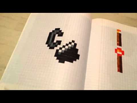 Tuto Comment Dessiner Lender Dragon Minecraft En Pixel Art