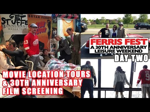 BTM at FERRIS FEST 2016 – Day 2 – Locations Tour & Movie Screening