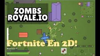 ZombsRoyale.io Nuevo juego copia barata 2d del fortnite