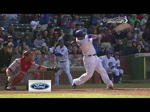 CIN@CHC: Castillo plates a pair with two-run homer