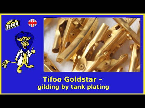 Easy DIY gold-plating for beginners with Tifoo Goldstar - Tutorial on how to gold-plate at home
