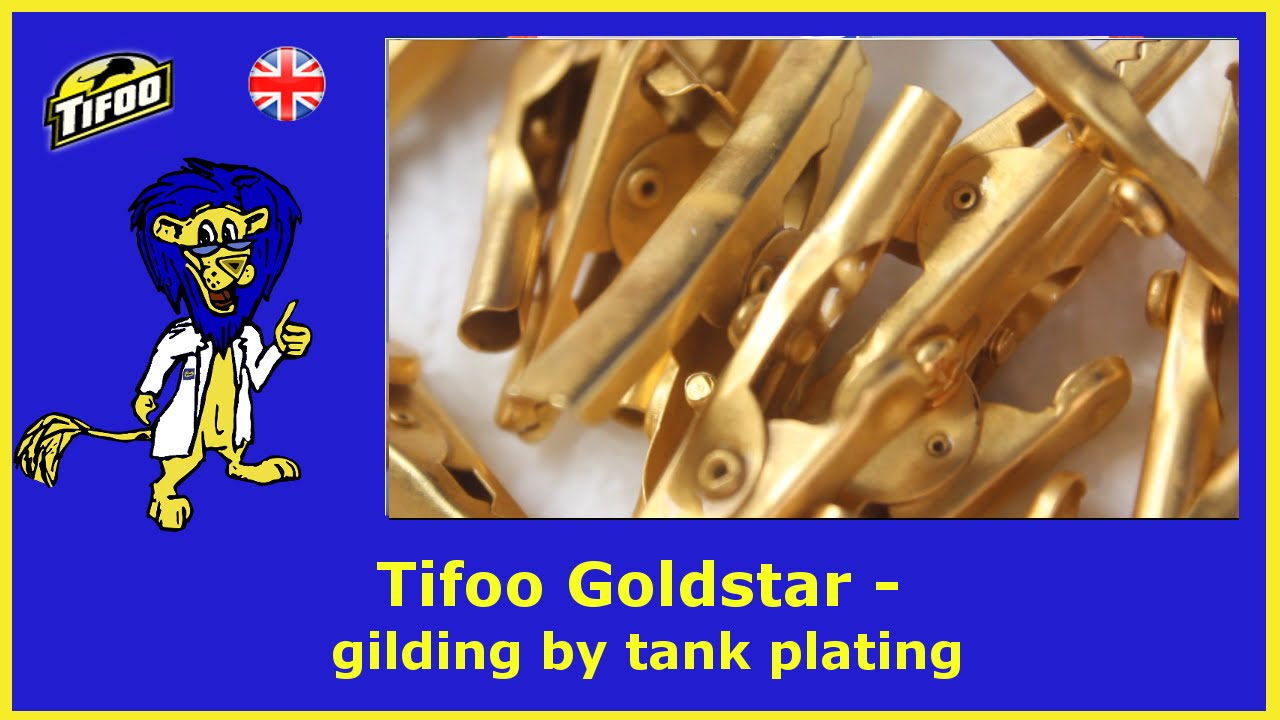 Tifoo -Kits for Electroplating,Anodizing,Cold bluing & Gold testing