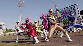 Power Ranger Super Ninja Steel | Rangers vs Speedwing round 2 | Episodio 7