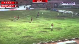 8 Besar DU 2014: Pusamania Borneo FC 2-0 Martapura FC