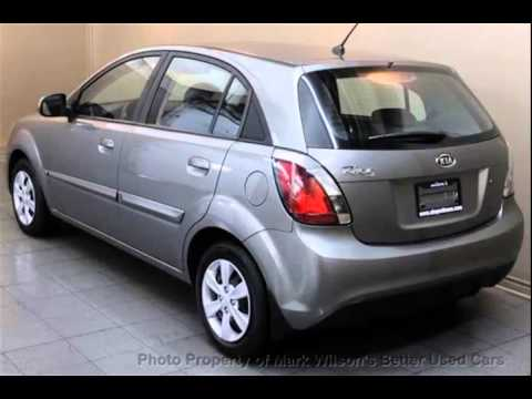 mark wilsons better used cars 2010 kia rio ex hatchback 63 000km heated seats power pkg h. Black Bedroom Furniture Sets. Home Design Ideas