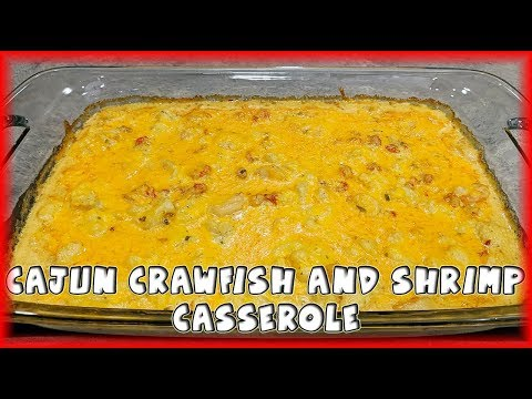 [Keto] Cajun Crawfish And Shrimp Casserole
