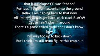 Eminem Not Afraid With Lyrics New Single-Recovery