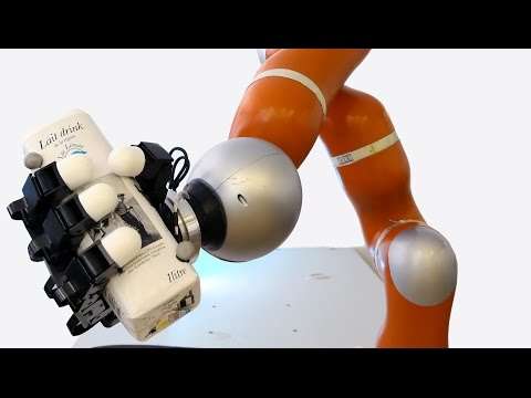 Super-Fast Robot Arm Can Catch Whatever You Throw At It