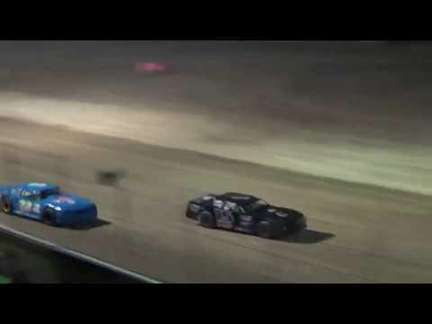 Street Stock Heat Race #2 on 04-27-2018 at I-96 Speedway.
