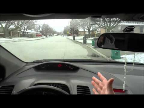 How To Approach A Stop Sign-Driving Lesson