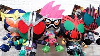 平成20仮面ライダーが一気に『chibiぬいぐるみ』で発売!1個¥1620でクウガ〜ジオウまで勢揃い!とりあえず好きなライダーを買ってレビュー!