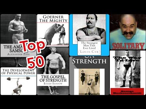 50 GREATEST BOOKS ABOUT STRENGTH (OLD TIME) Лучше книги о развитии силы и мышц!