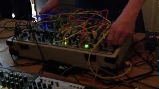 Richard Devine On a Make Noise Shared System