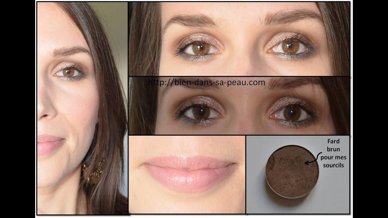 Populaire Maquillage de jour neutre avec la palette NAKED 2, Urban Decay  GP96