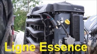 Tuto Entretien Yamaha F90 - Part 2 - Ligne Essence - Embase Outboard Jet