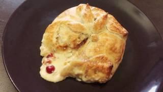 Запеченый сыр Бри с Клюквой и Грушей / Невероятно вкусная закуска к Праздничному Столу