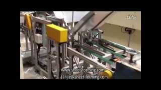 Automatic ceiling tile production line, metal ceiling plate making machine