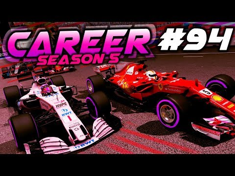 SURVIVING THE RAIN IN SINGAPORE - F1 2017 Career Mode Part 94