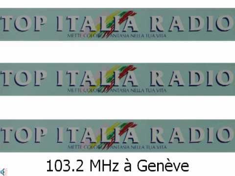 Top Italia Radio 103.2 MHz Genève 1988 - jingles