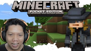 MiNECRAFT : POCKET EDiTiON INDONESiA | MALAM PERTAMAX 😭