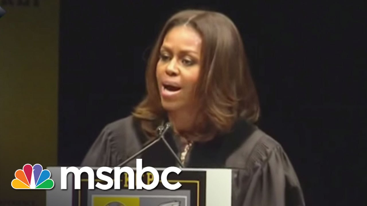 Michelle Obama's Moving Words At Chicago Graduation