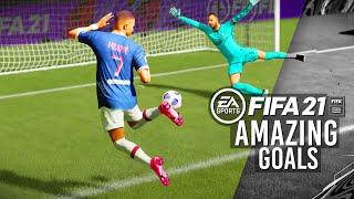 FIFA 21 - TOP 10 BEST GOALS! Ft. 90 YARD LONG SHOT,KNUCKLE BALL FREE KICK,SCORPION KICK!
