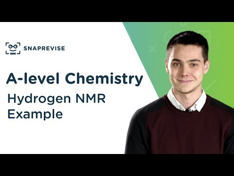 Hydrogen NMR Example   A-level Chemistry   OCR, AQA, Edexcel